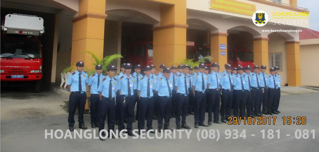 Nhân viên bảo vệ Hoàng Long - Bảo vệ chuyên nghiệp tại tphcm Long - Bảo vệ